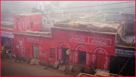 Coca Cola building in India