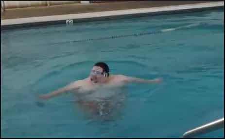 Dramatic Fat Guy Splash