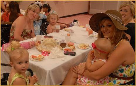 The Mommy and Me Tea - U.S. Army Garrison Humphreys, South Korea - 14 July 2012