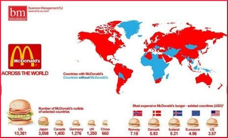 McDonalds Map