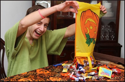 Christopher's Halloween Candy 2