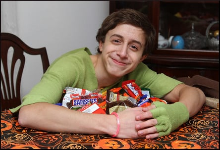 Christopher's Halloween Candy