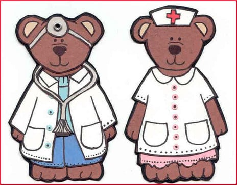 Doctor and Nurse Bears