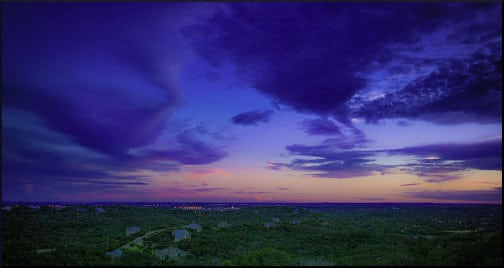 Sunset in San Antonio
