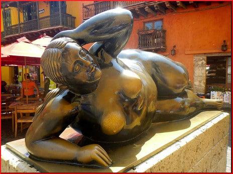 Botero on Plaza de Santo Domingo