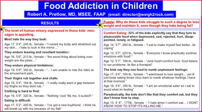 thesis on food addiction The research described in this thesis was performed at brain center rudolf   the general question that this thesis aims to answer is: does food addiction exist.