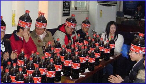 Coke hats