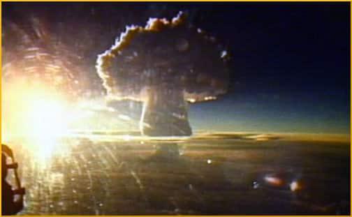 Tsar Bomba mushroom cloud