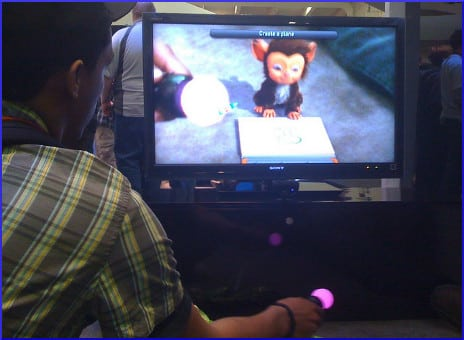 Teaching a virtual pet to draw with Playstation Move