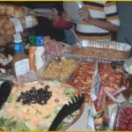 thanksgiving festivities - potluck feast