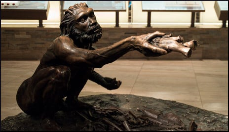Bronze Early Human