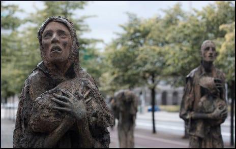 famine-sculpture
