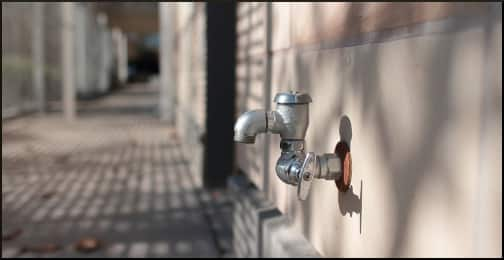 spigot-on-the-wall