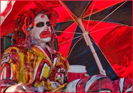 mermaid-parade-clown