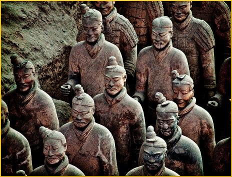 terracotta-warriors-statues