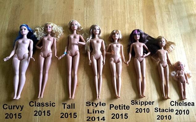 barbie-body-types