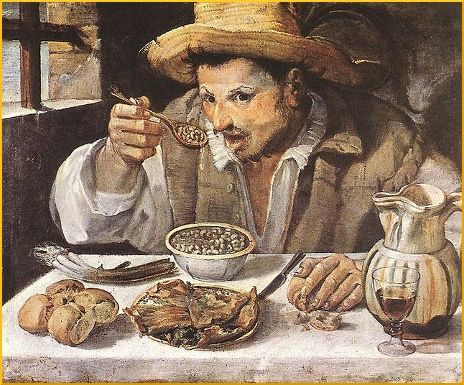 old-painting-man-eating-beans