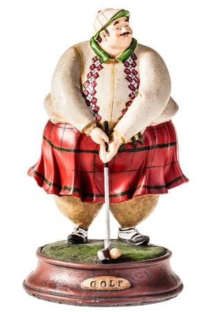 scotsman-playing-golf-statuette