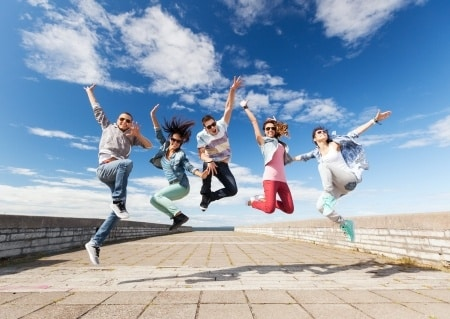 happy-teens-jumping