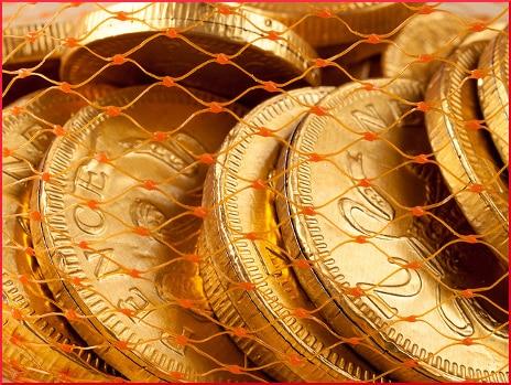 chocolate-coins-closeup
