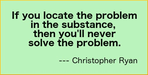 problem-in-substance-quote