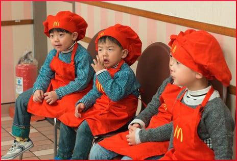 kids-wearing-mcdonalds-uniform