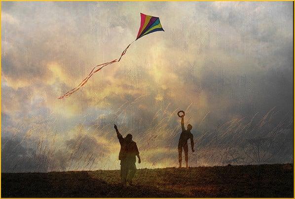 rainbow-kite