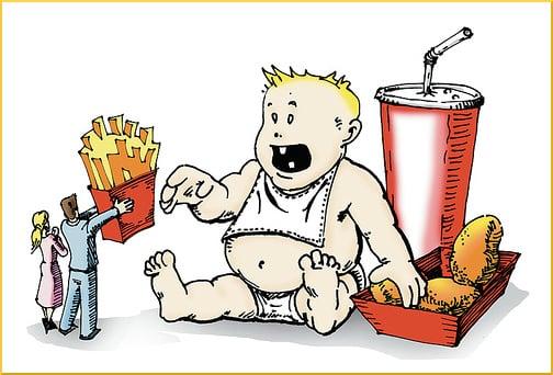 obesity-in-children-illustration