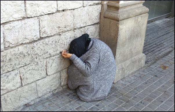 begging-despair